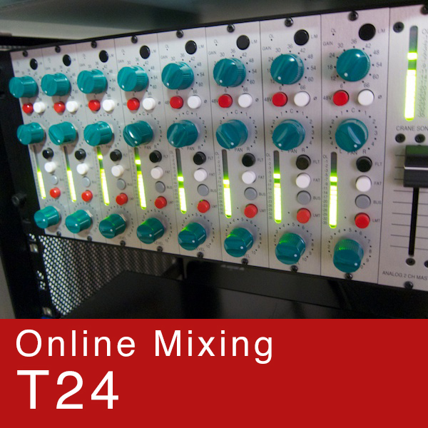 Online Mixing Service T24 - (1 Song)